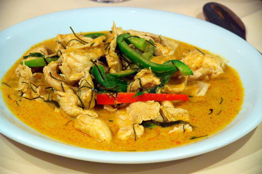 Mexican Curried Chicken at Azpin Restaurant